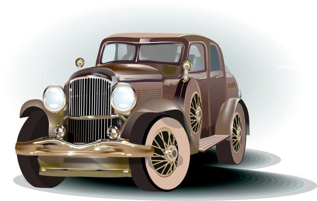 Машинка, одна из самых первых работ.