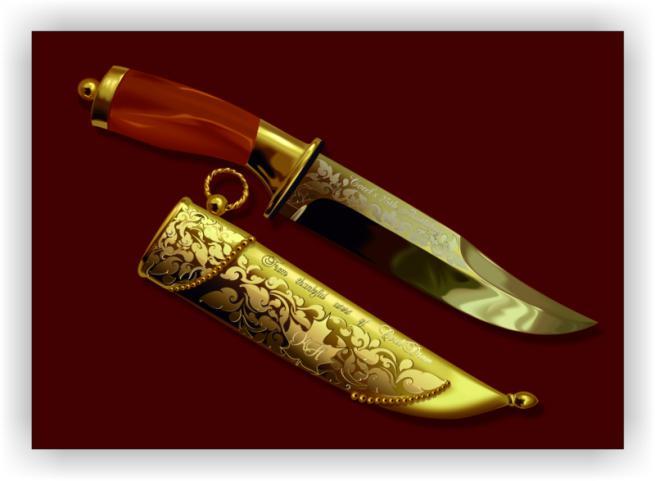 Нож, конкурсная работа