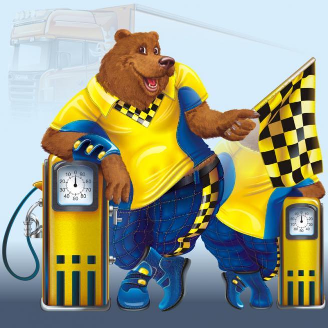 Медведь (ростовая фигура)