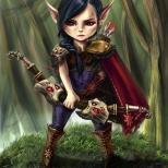 Злая эльфийка