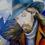 портрет (маслянные краски, на холсте)