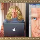 Портрет мужа с натуры