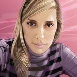Попрошайничный портрет :) (CorelDRAW X3)